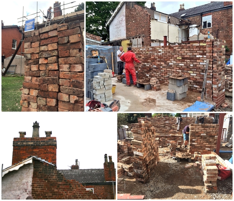Brickwork: When it starts looking like a house might be happening!