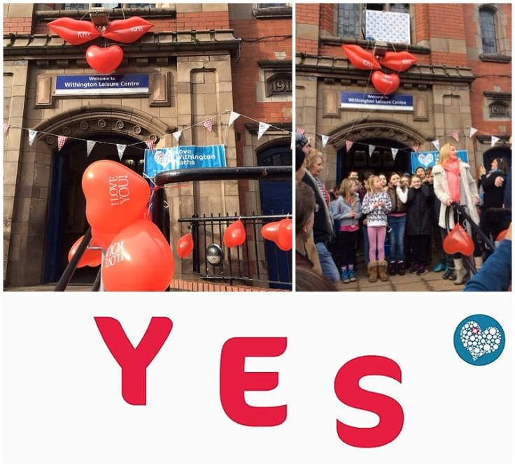 Love Withington Baths campaign success