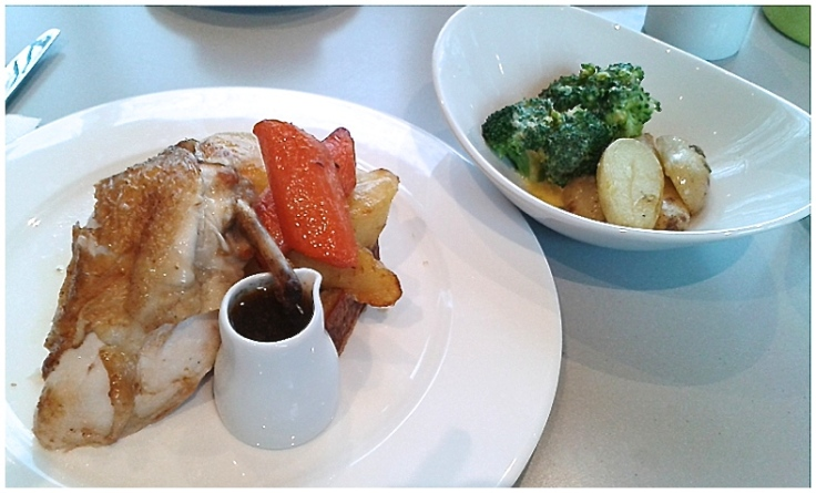 Whitworth gallery roast chicken dinner