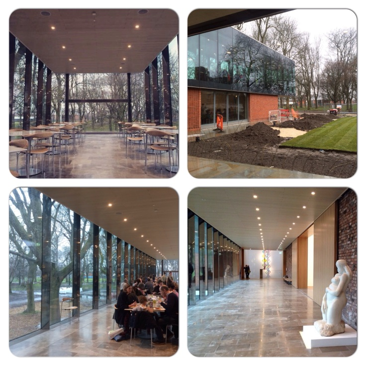 The Whitworth Art Gallery cafe area