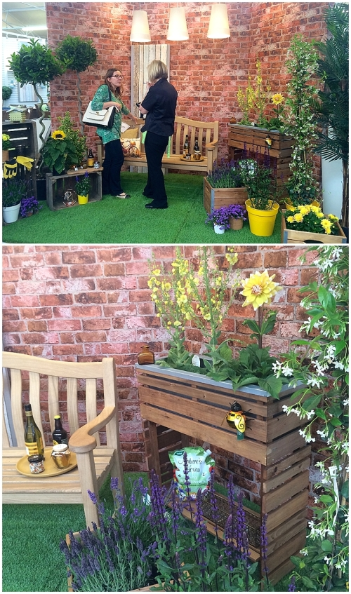 Sian Astley at Bents Bee Friendly garden