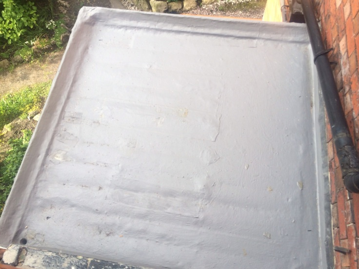 Using Durashield How To Fix A Leaky Porch Flat Roof The