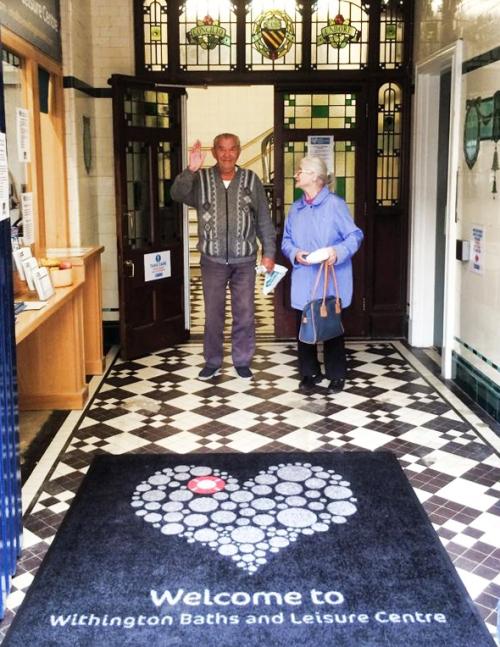 Ideal Mats bespoke mat for Love Withington Baths