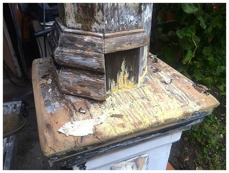 Edwardian porch restoration 1
