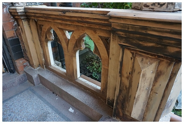 Edwardian porch restoration 2