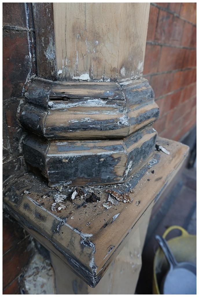 Edwardian porch restoration 3