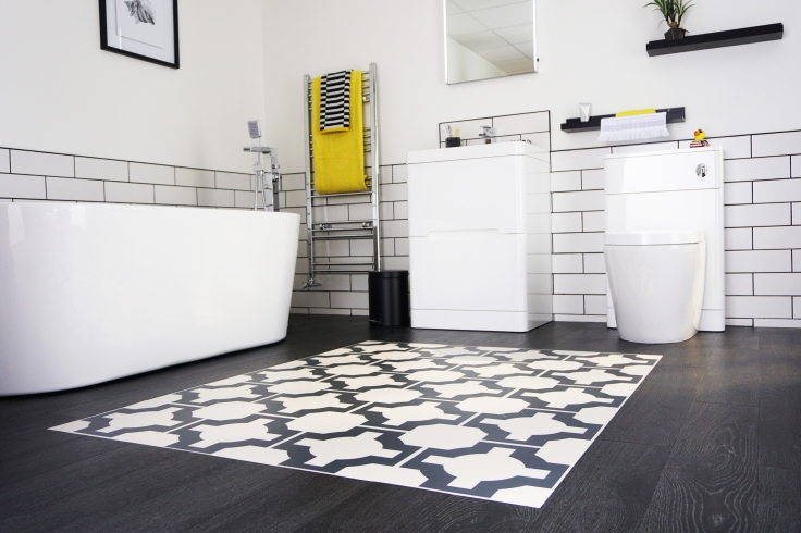 Moregeous Designed Zoned Floor Bathroom PS50