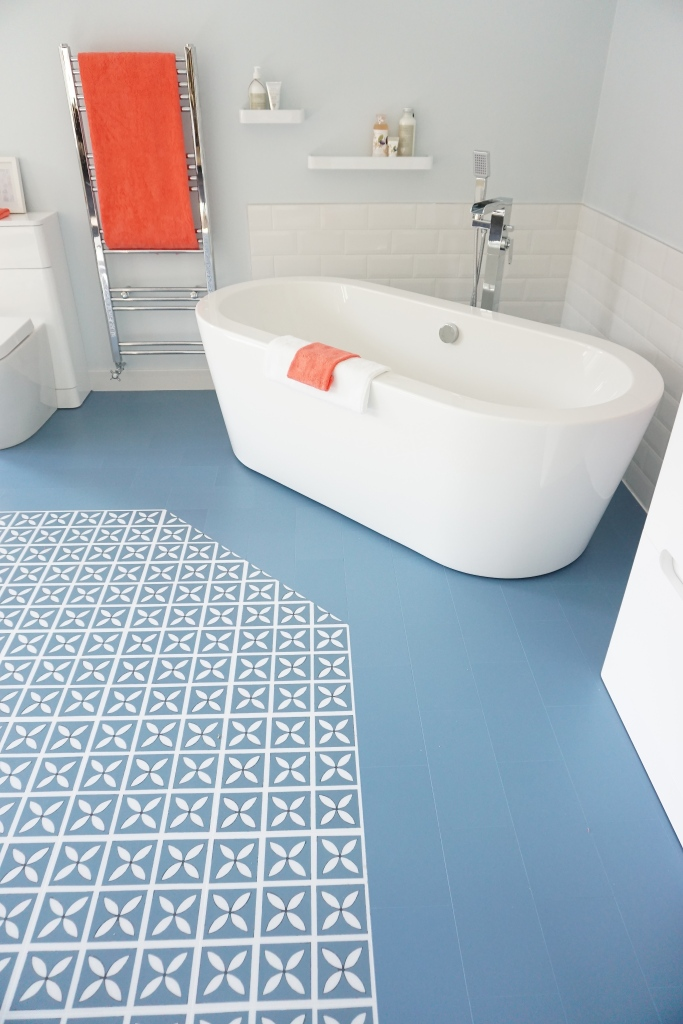 Sian Astley designed Harvey Maria floor for Bath Empire