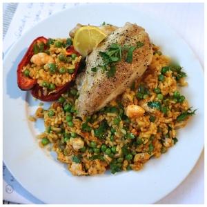 M&S GastroPub Paella Review