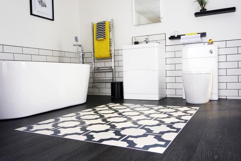 Sian Astley designed Harvey Maria floor for Bath Empire