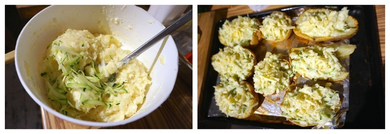 Courgette Cheesy Potatoes Renovation Recipes 3