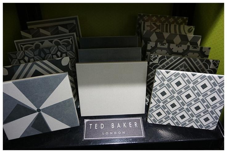 Ted Baker patterned tiles