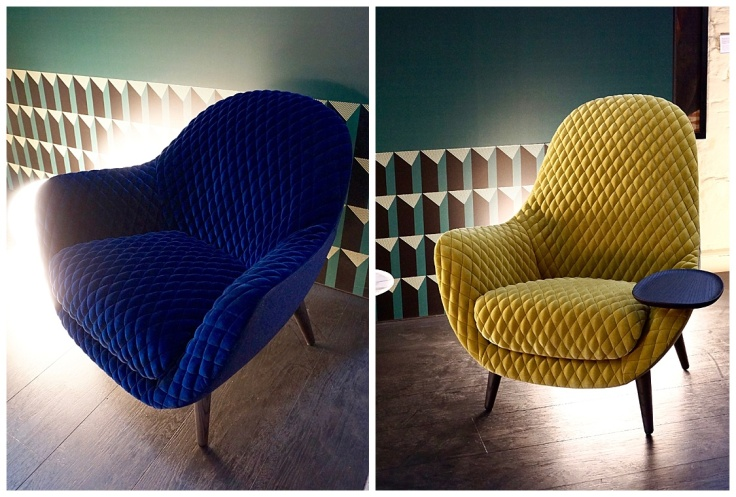 Clerkenwell Design Week 2016 Poliform padded chair