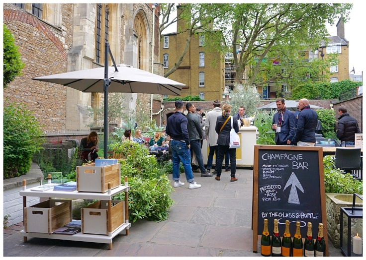 Clerkenwell Design Week 2016 The Order of St John garden