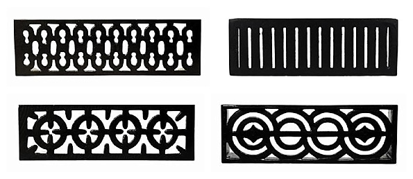 Britannia Cast Iron  Airbricks