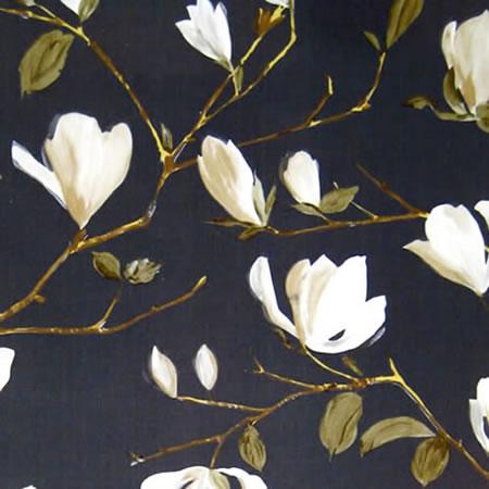 Magnolia Graphite Oil Cloth