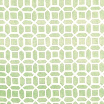 mosaic mint oilcloth