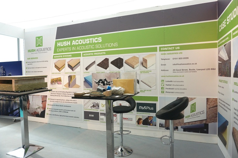 Hush Acoustic Flooring at 100% Design