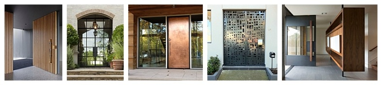 Oversized and metal front doors.jpg