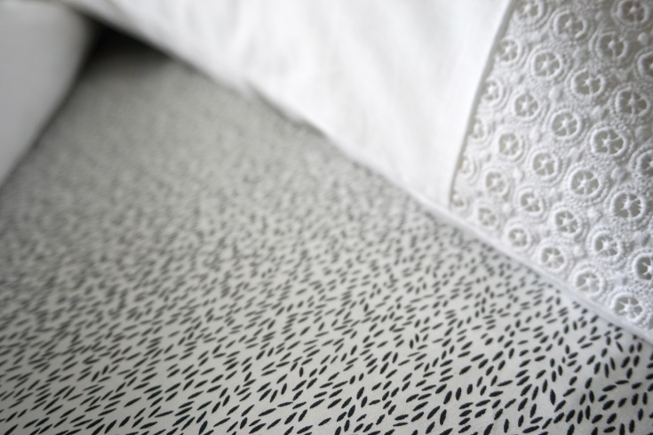 MissPrint Monochrome bedsheet