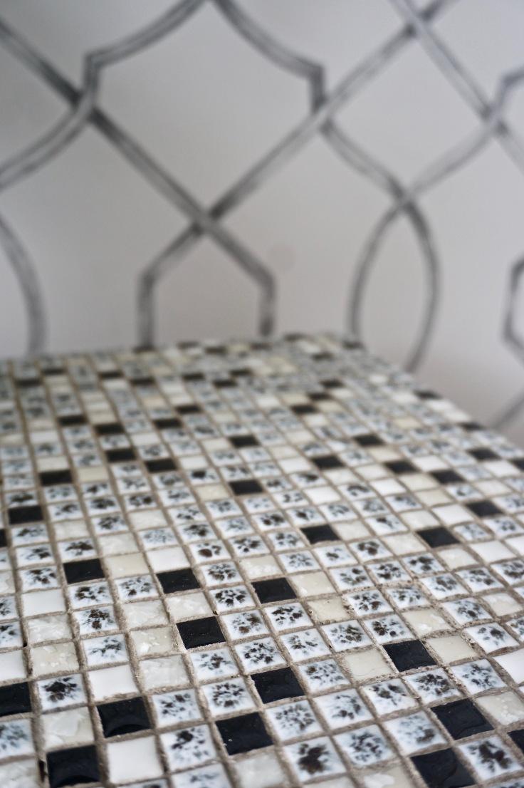 Monochrome mini mosaics