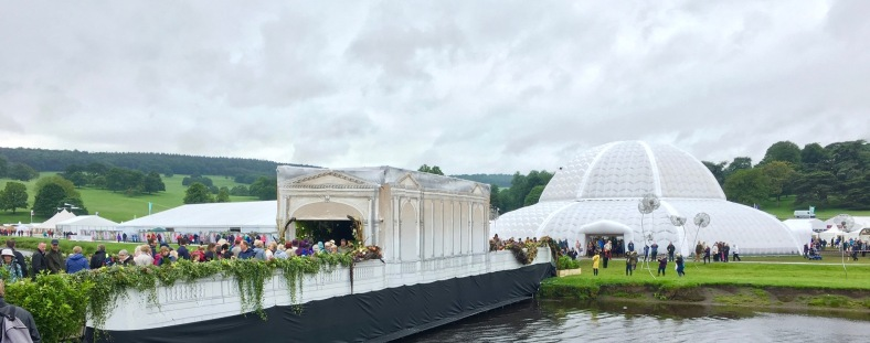 RHS Chatsworth S Astley image Floral Bridge