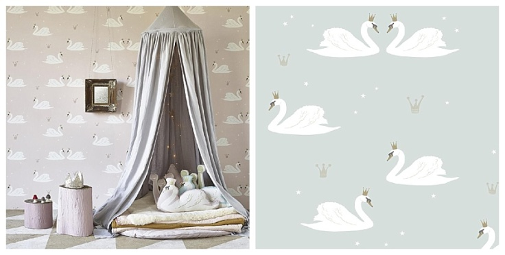 Inspiration Swan Love Wallpaper MOREGEOUS Making A Home More