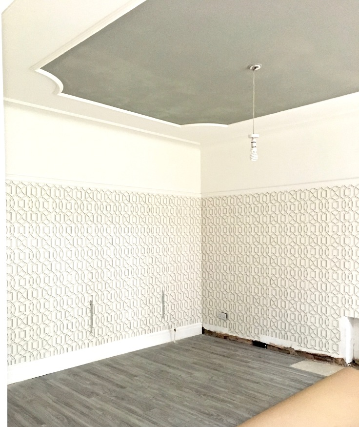 How To Use Fibre Lining Paper on a Cracked Ceiling - MAKE ...