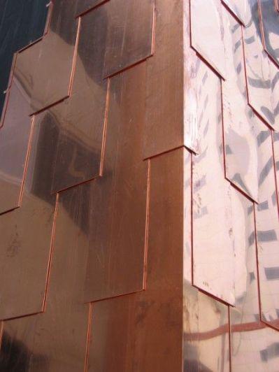 Copper Shingles