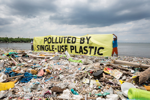 Freedom Island Waste Clean-up and Brand Audit in the Philippines