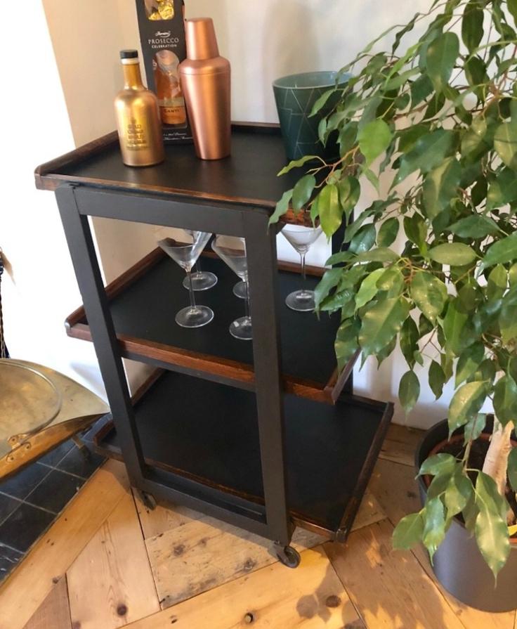 Upcycled Tea Tray