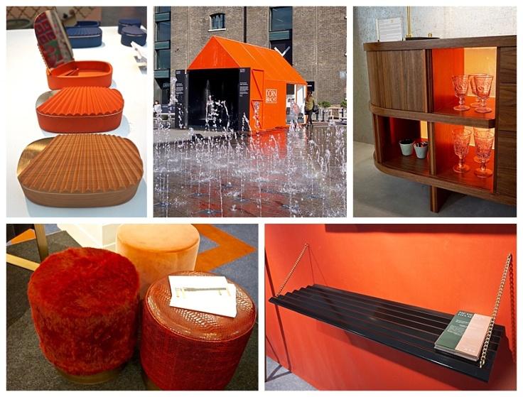 London Design Festival 2016 Orange