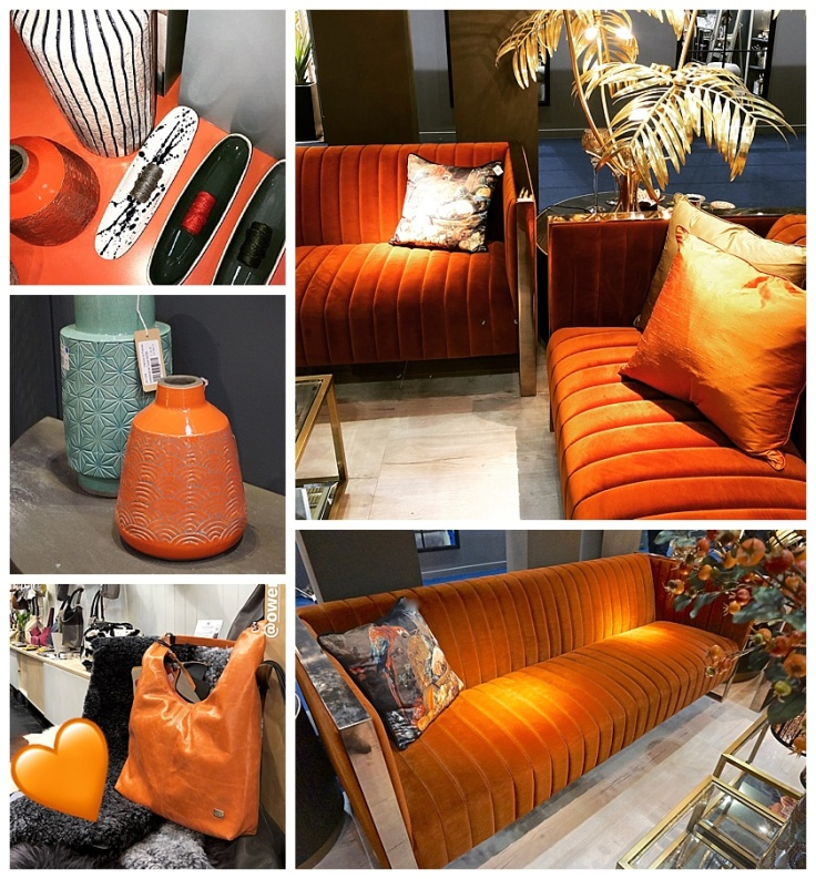 Spring Fair 2018 Trend For Orange