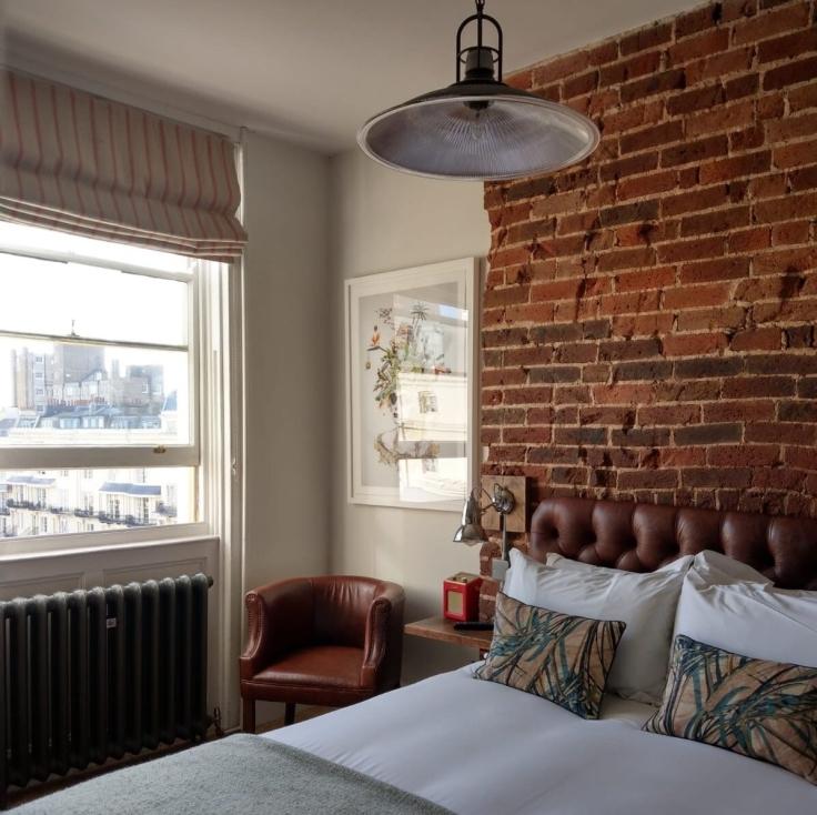 Maria Rivans room, Artist Residence Brighton